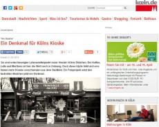 Ein Denkmal für Kölns Kioske | koeln.de
