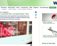 AM BÜDCHE bei WDR5 Lebensart